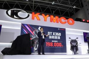 話題新車展示!KYMCO「DT X360」建議售價19.8萬