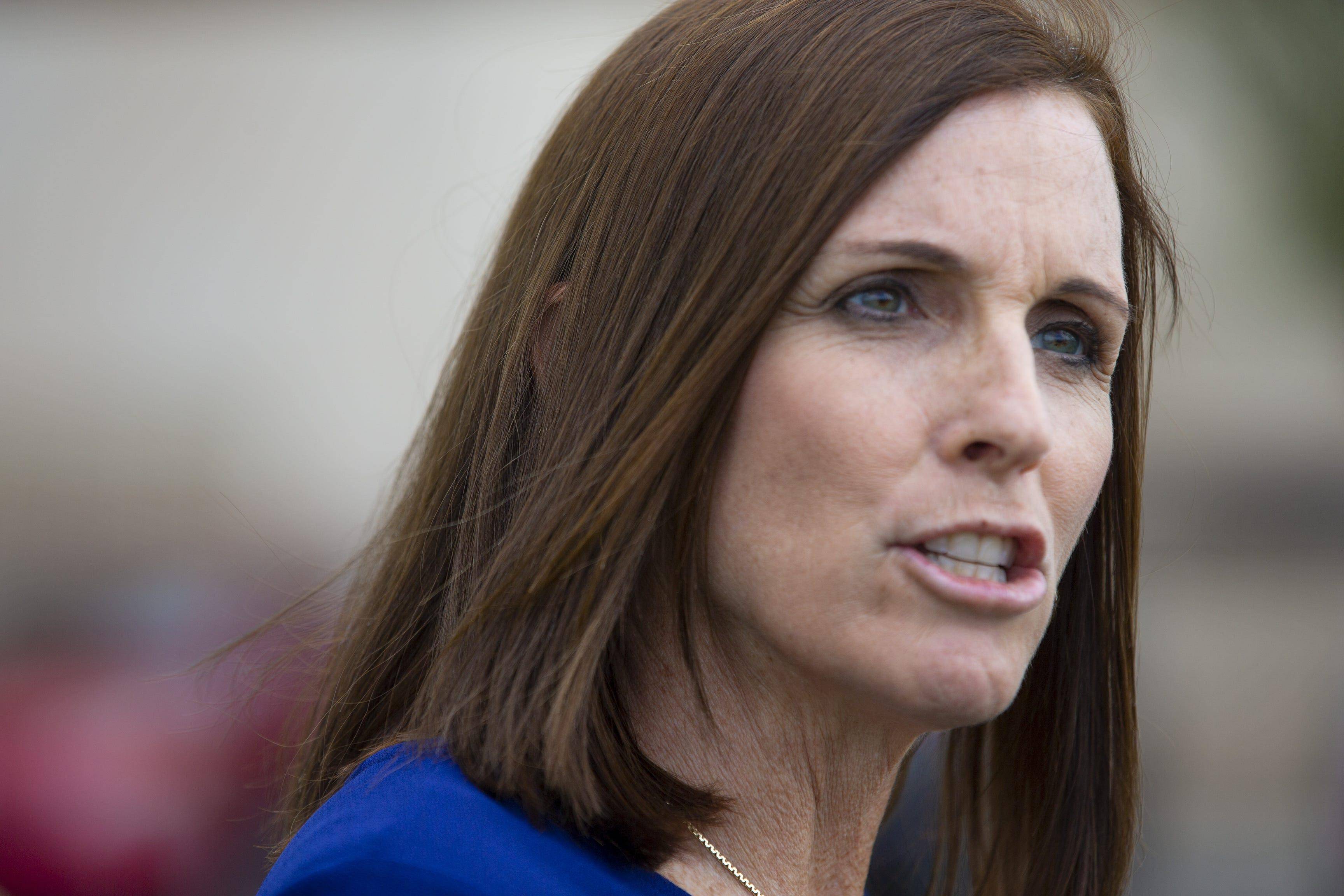 Republican Sen. Martha McSally wants to make domestic terrorism a federal crime