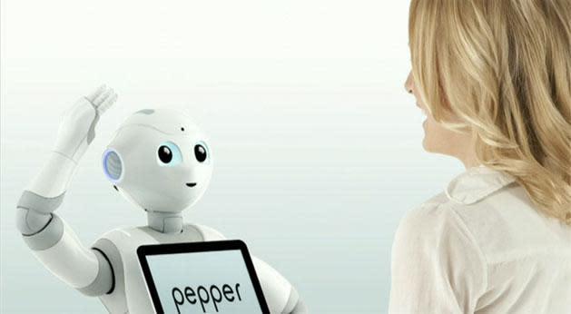 Softbank's 'Pepper' robot understands feelings, will cost less than $2,000 next year