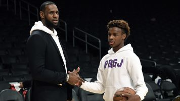 LeBron James gives scouting report on son