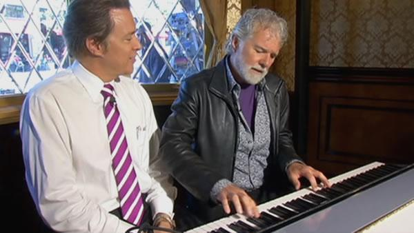 Rolling Stones music director Chuck Leavell performs