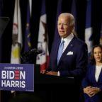 Democrat Harris rebukes Trump in historic campaign-trail debut with Biden