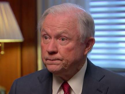 Jeff Sessions says Charlottesville car attack 'could be a hate crime'