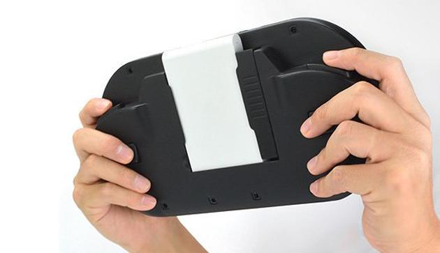 The DekaVita is a seven-inch 'handheld' with a Vita TV slid into the back