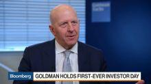 Goldman Isn't Looking to Buy a Big Bank, CEO Solomon Says