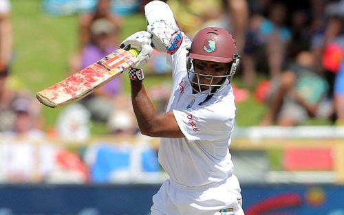 Shivnarine Chanderpaul was signed by Lancashire this winter - Gallo Imagea