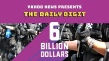 Daily Digit: What are police doing with $6 billion worth of military equipment?