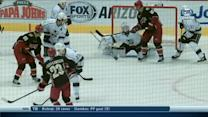 Shane Doan scores on the deflection