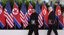 'Pyongyang-bound' Trump says world avoided 'nuclear catastrophe'