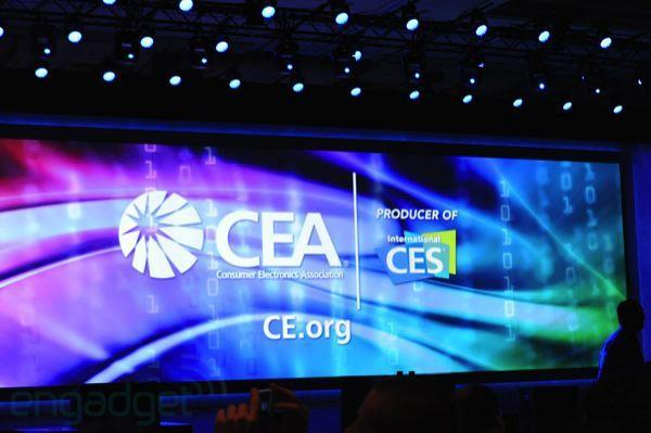 Live from Intel's CES 2012 press event