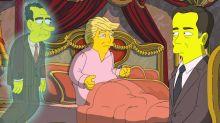Los Simpson parodian a Trump, Nixon y el ex-director del FBI