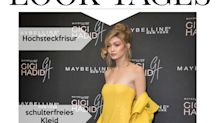 Look des Tages: Gigi Hadid schulterfrei in Gelb