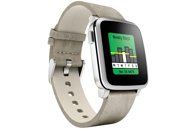 Pebble smartwatches get a built-in fitness tracking app
