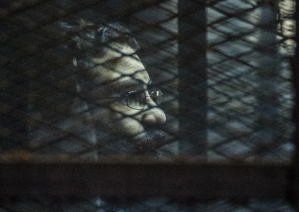Every night, jail becomes home for leading Egyptian dissident