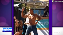 Will Smith Surprises Las Vegas Partygoers with Throwback Dance