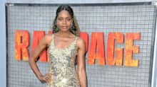 Naomie Harris Goes for Gold in Miu Miu—And Wins