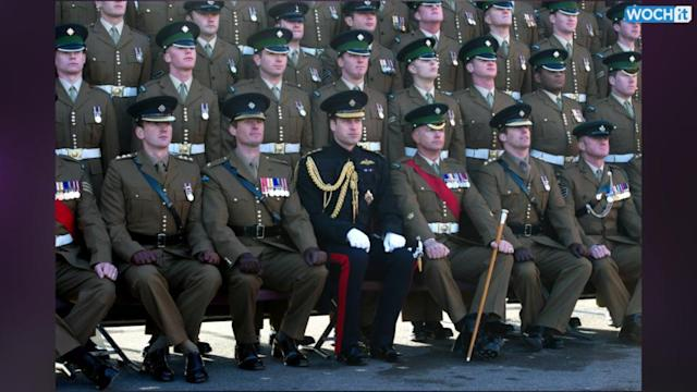 Prince William Presents Medals To Soldiers Who Served In Afghanistan