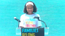12-Year-Old Delivers Emotional Speech on Fear of Losing Her Immigrant Mother