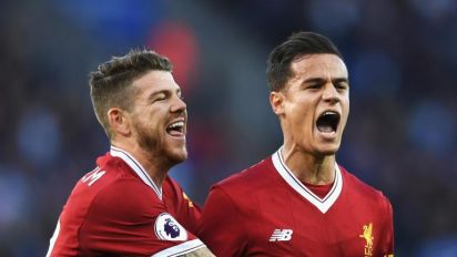 Philippe Coutinho stars as Liverpool down Leicester in five-goal thriller