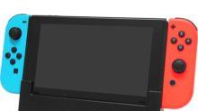 Switch最強機座 可駁LAN線可充電