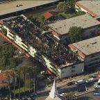 Pico Rivera apartment fire likely caused by plumbing work, sheriff says