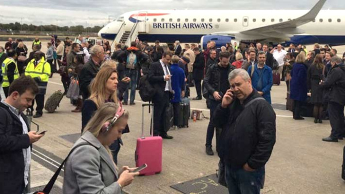 Airport reopens after 'chemical' scare