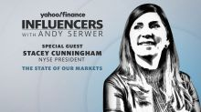 NYSE President Stacey Cunningham joins 'Influencers with Andy Serwer'