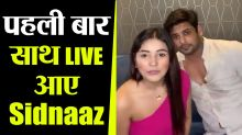 Sidharth Shukla & Shehnaaz Gill  Latest LIVE together on Instagram; Check Out