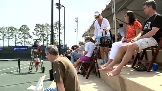 USTA women's challenger heats up with doubles title match