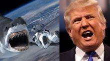 Donald Trump casi protagonizó Sharknado 3, pero decidió postularse a presidente