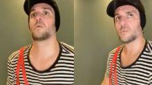 Rodrigo Lombardi vira Chaves em vídeo