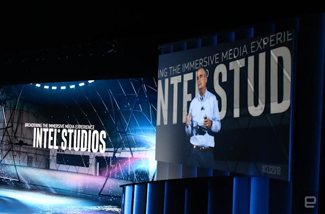 Intel Studios is a high-tech soundstage for capturing 360-degree video