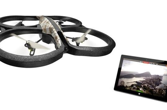 Windows 8 users can now pilot their AR.Drone 2.0 with official AR.FreeFlight app