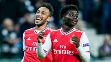 'Dream come true' as teen Saka shines for Arsenal in Europe