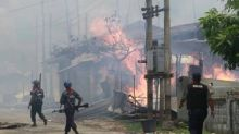 Myanmar police kill seven, injure twelve Buddhist protesters in Rakhine after opening fire on riot