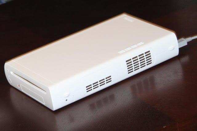 Nintendo Wii U console shown off in its bright, minimalistic entirety