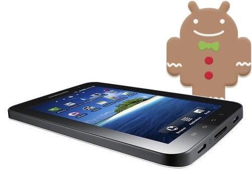 Samsung Galaxy Tab 2.3.3 Gingerbread update begins international rollout