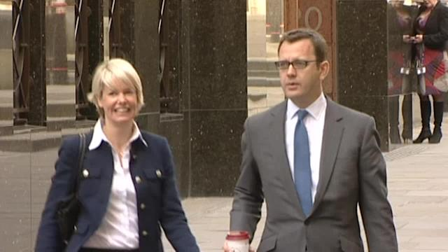 Phone-hacking trial arrivals