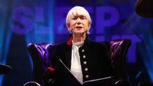 Dame Helen Mirren reads bedtime stories at Trafalgar Square charity sleepout
