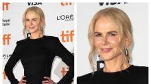 Nicole Kidman presenta su última película (¿y su nueva cara?) en el Festival de Toronto