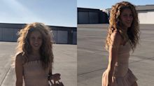 Este es el look de 1 millón que presume Shakira