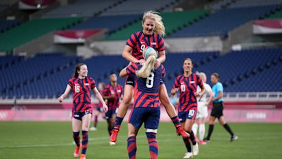 USWNT bounces back from embarrassing loss