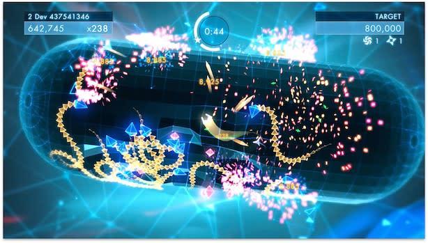 Behind-the-scenes video basks in Geometry Wars 3's glow