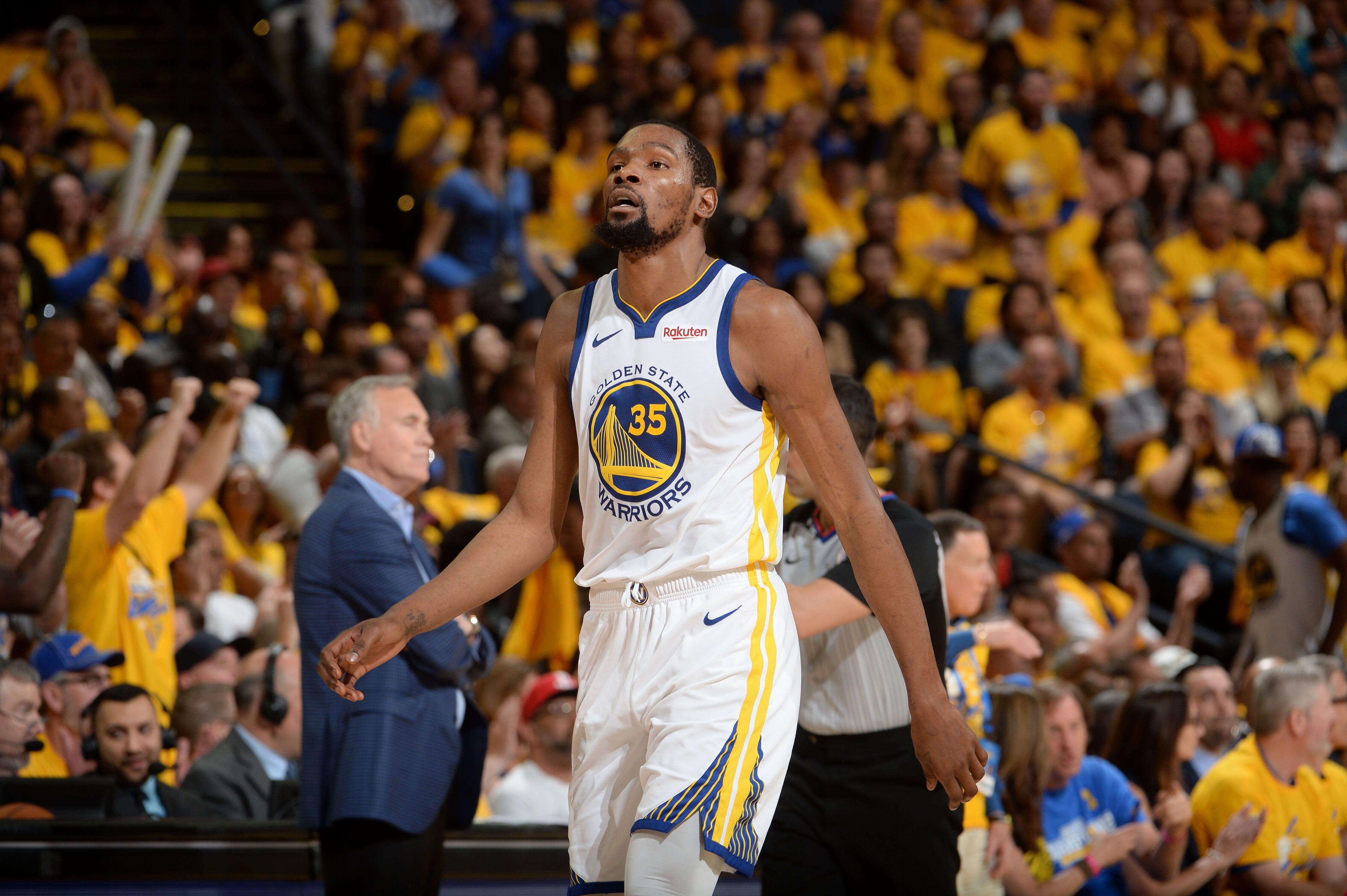 59c0f06218f2 Warriors coach Steve Kerr likens Durant s performance to Michael Jordan