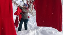 Red dresses reminder of murdered, missing women