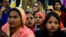 Foreigners gather at India's religious mega festival