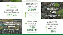 Waste Management Announces Third Quarter Earnings