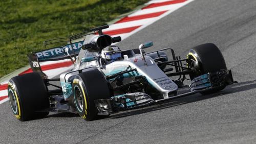 2017年F1首次季前集測次日Raikkonen居首