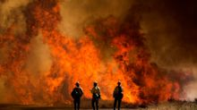 Residents forced to evacuate as 'Apple Fire' burns out of control in California