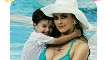Aracely Arámbula celebra el cumpleaños de su hijo Daniel con un sexy bikinazo